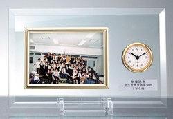 ガラス時計(記念品)