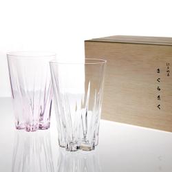 SAKURASAKU glass ペア