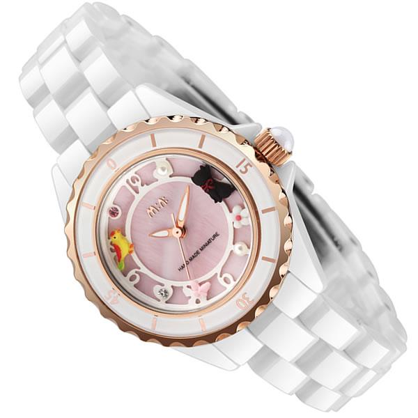 premium selection c2138 36951 女性に人気のセラミックの可愛いレディース腕時計 おすすめ ...
