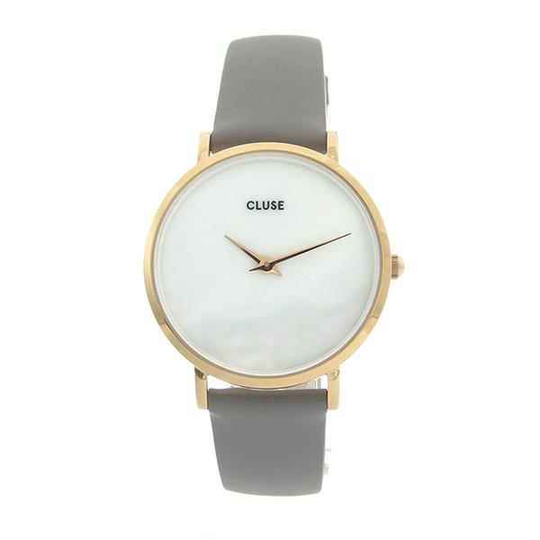 ミニュイ(MINUIT) ホワイトパール 腕時計