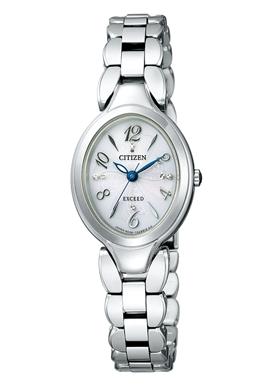 エクシード エコドライブ チタンブレスオーバル 腕時計