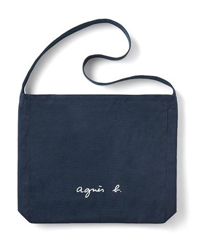 ロゴショルダーバッグ