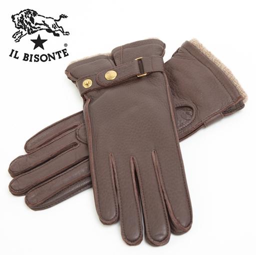 イル ビゾンテ(IL BISONTE) 革手袋