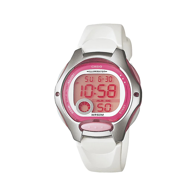 カシオ スポーツウォッチ 5気圧防水デジタル腕時計 LW200