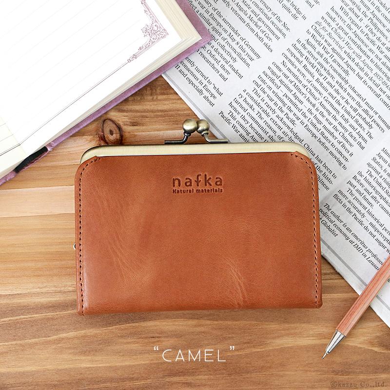 ナフカ(nafka) 二つ折り財布