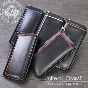 ユナイテッドオム(United HOMME) 本革財布