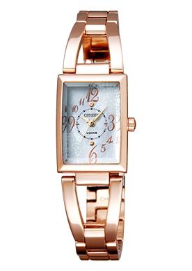 ウィッカ ソーラーテック ピンクゴールド 腕時計
