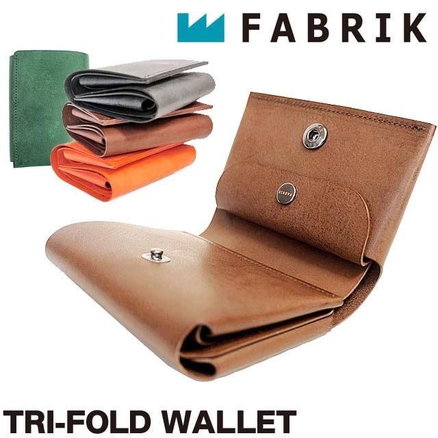 ファブリック 三つ折り財布