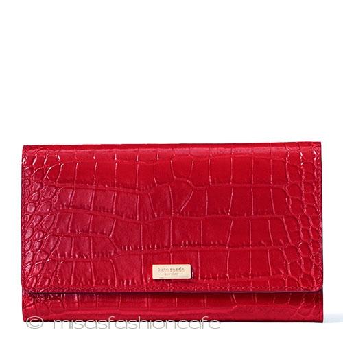 ケイト・スペード ニューヨーク(kate spade new york) クロコダイル財布