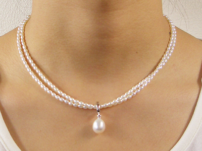 三重県真珠加工販売協同組合(MPO) ネックレス