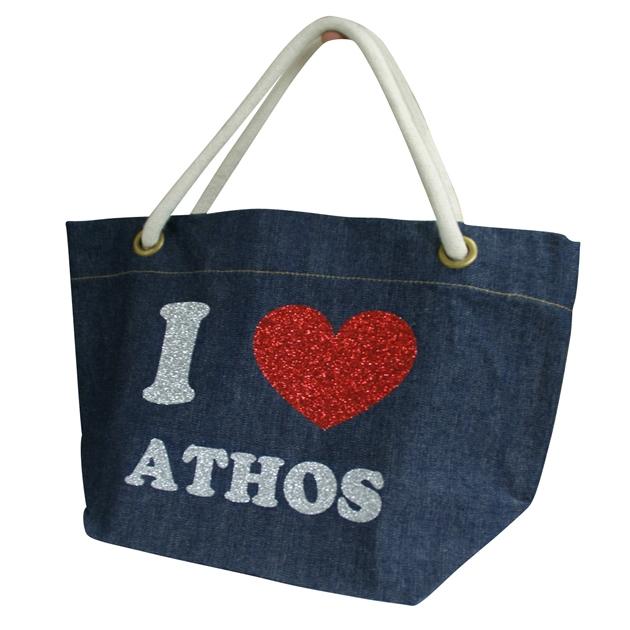 athos shop 名入れトートバッグ