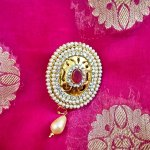 You can easily glam up a saree with a brooch that resonates your personality and voila, you're set to turn heads and be the trend-setter of the event. From weddings to parties and all your gala functions, we got you covered, go explore amazing brooches and saree pins
