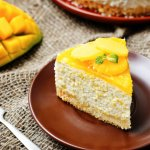 Sweet, juicy and luscious, mangoes are such a treat by themselves, but combine them with some creamy cream cheese and you have the most decadent and indulgent of desserts: the mango cheesecake! Here we show you how to make the simplest of mango cheesecakes, the no bake mango cheesecake recipe, which is eggless to boot!