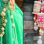 We picked out the coolest latkans that are in the market from different online portals you can purchase from. If you do not know more about how to pair tassels with lehenga than this article is just for you. Go through the article and glam up your look with amazing latkan hangings.