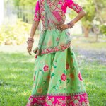 A lehenga can make a girl look so pretty and feminine. Whether they are printed, embroidered, make of silks and brocades or net and velvet, their ability to transform how a girl looks is undeniable. Here's a selection of lehengas online for girls - cute options for the young ones and some charming ones for older girls, that will be a great addition to anyone's wardrobe.