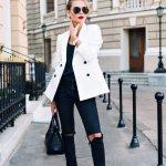 8 Celana Jeans Hitam Wanita Pilihan dan 8 Atasan yang Cocok dengan Jeans Hitam (2018)