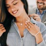 Top 10 bộ trang sức vàng trắng tặng người thương (năm 2021)