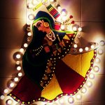 "The exact meaning of Navratri is ""the nine promising nights"". Durga is reckoned as the ""Goddess of Power"" and during the festival of Navratra, we love to decorate your home. On such an occasion, one would love to make beautiful Rangolis outside their homes to show their love for the festival. If you are hoping to find some suggestions that will help you create design rangoli design, you can refer to the following paragraphs for suggestions."