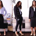यहाँ हैं महिलाओ के लिए 6 पश्चिमी बिज़नेस कासुअल पोशाक जो आप पर पेशेवर लगेंगे। बिज़नेस कैजुअल ड्रेस के साथ एक्सेसरीज़ भी। (2021)
