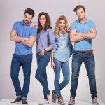 7+ Gaya Original Celana Jeans Biru Untuk Pria dan Wanita (2017)