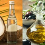 Olive oil and coconut oil have been in use for centuries. Most of you, if not all, would have heard about both these oils and their numerous benefits. So if you are wondering which of these 2 oils is the better choice for you then you have just come to the right place. This BP Guide will compare the 2 oils on the parameters of health, hair-care, skin-care and cooking so that depending on your requirement you can choose the oil which suits you best.
