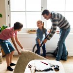 Are you tired of nagging your children to tidy up their rooms? Are you exhausted of asking your spouse to clean the house? When you're exhausted from nagging, reminding, and pleading, it might be time to consider a new plan that will end all the excuses and get your family on board and cleaning. Here are some Tricks and Tactics to get your kids and spouse too involved with chores.