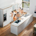 One of the most visited areas in the house is the kitchen. Nobody likes a congested working area. By coupling ergonomically designed appliances and fixtures with careful planning, working in your kitchen can become a pleasure, not a pain. Read to find expert advice on the right counter height, the best flooring and where to put your appliances.