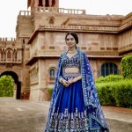 Right from serene ivories and gorgeous reds to soothing pastels, metallics and eccentric hues, the colour palette for lehengas spans across a million shades for brides to choose from. Scroll down below and find the best royal blue lehenga colour combinations that call to your heart!