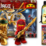 It was a bit of a challenge to figure out what to do without reverting to commercial and disposable Ninjago Partyware. If you want to make your child's birthday parties be sweet, creative and memorable. And Entertain your guests with Ninjago games or let them eat Ninjago sweet, cakes and cookies. Pack a punch with these Ninjago party favour ideas.