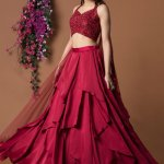 Indian girls love to wear lehenga's for any occasion. which are available in modern and traditional looks. With the innovations and daily changing trends, it becomes tedious to choose the perfect lehenga for yourself for a particular occasion and here we are to help you a bit to make it convenient for you to have a look at some of the latest trends for lehengas, all below 3,000!!