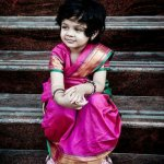 Wearing a saree makes a little girl feel grown up and pretty. It's the ultimate wish fulfilment for her. But a 5-yard saree is of course not going to fit your little one. So we have compiled a list of some of the cutest sarees for children that will make her look just like a little version of Mommy!