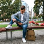Siapa bilang gaya pria tidak bisa keren? Dengan pilihan outfit yang tepat, para pria bisa tampil maksimal dengan baju dan sepatu yang cocok. Termasuk sepatu santai yang bisa para pria pilih untuk melengkapi gaya kasual mereka. Yuk, cek dulu berbagai rekomendasinya di sini!