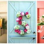 10 Ide Kreatif Hiasan Pintu yang Kamu Bisa Buat Sendiri