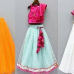 This article suggests 10 great lehenga cholis that will be a great traditional & ethnic wear for your daughter for particular occasions. It also suggests you the right kind of fabric, and necessary accessories that you can match with these lehenga cholis for a complete look that will make your daughter look like a little Indian princess!