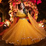 The colour yellow has so much significance in Indian weddings, especially the haldi ceremony, and while many brides are breaking the norm to don other colours at this function, here are some wonderful lehengas for those who wish to tread the more traditional path. But weddings aside, there is no restriction on where and whom can flaunt this sunny colour, so dive right in and pick out a dress for your next big event!