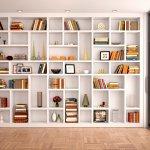Koleksi Buku Anda Semakin Rapi jika Disimpan Dalam Salah Satu dari 10 Rekomendasi Rak Buku Minimalis Ini