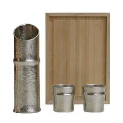 竹の酒器セット