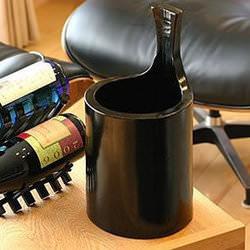 和の趣、孟宗竹のワインクーラー