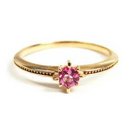 ピンクゴールド 指輪
