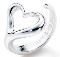 ティファニー オープンハート 指輪(レディース)