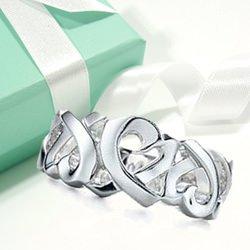 ティファニー ラビングハート 指輪(レディース)