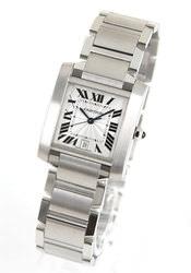 カルティエ タンク フランセーズ 腕時計(メンズ)