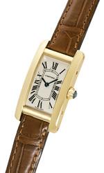 カルティエ タンクアメリカン 腕時計(レディース)