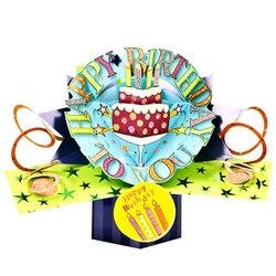 バースデーケーキ メッセージカード