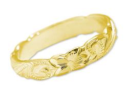 ハワイアンジュエリーの指輪(レディース)