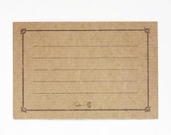 古川紙工 メッセージカード