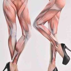 筋肉 レギンス