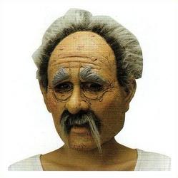 リアルなおじいちゃんマスク