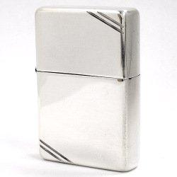 純銀製Zippo