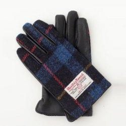 ハリスツイード 手袋 メンズ